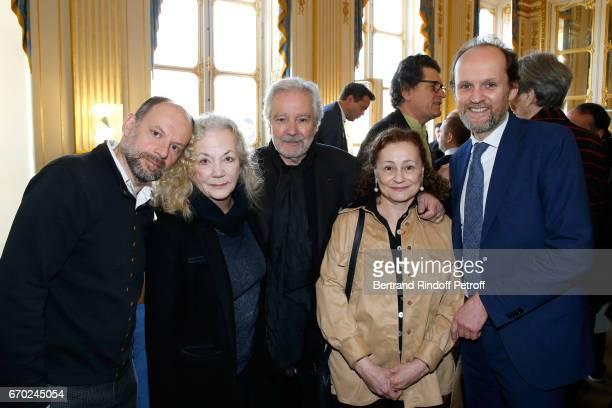 Nominated for 'Moliere du Meilleur Comedien dans un spectacle de Theatre public' for 'Les Damnes' Denis Podalydes Nominated for 'Moliere de Meilleur...