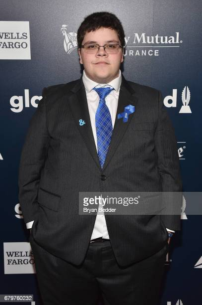 Nominee and presenter Gavin Grimm attends 28th Annual GLAAD Media Awards at The Hilton Midtown on May 6 2017 in New York City