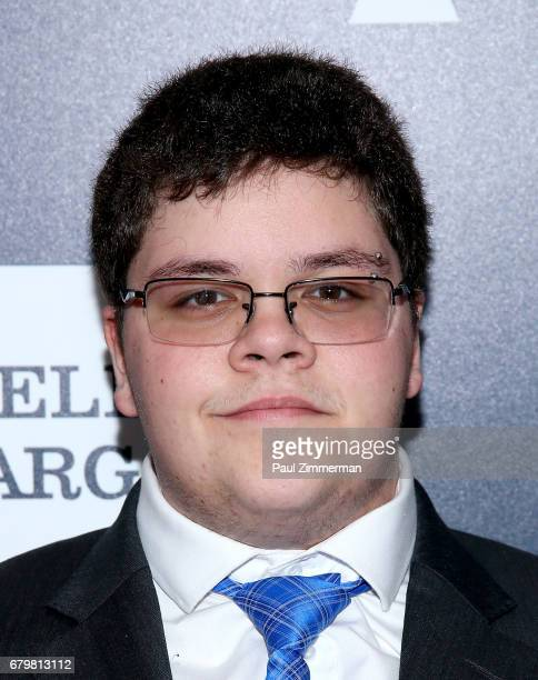 Nominee and presenter Gavin Grimm attends the 28th Annual GLAAD Awards at New York Hilton Midtown on May 6 2017 in New York City