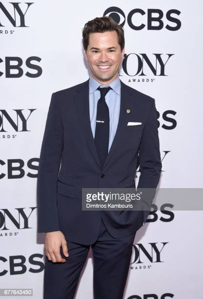 Nominee Andrew Rannells attends the 2017 Tony Awards Meet The Nominees Press Junket at the Sofitel New York on May 3 2017 in New York City
