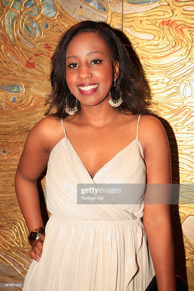 Nominee Breanna Morrison arrives at the 3rd Annual 'To The Nines' After Party hosted by LA Urban League Young Professionals at The Beverly Hilton Hotel on April 26, 2013 in Beverly Hills, California.