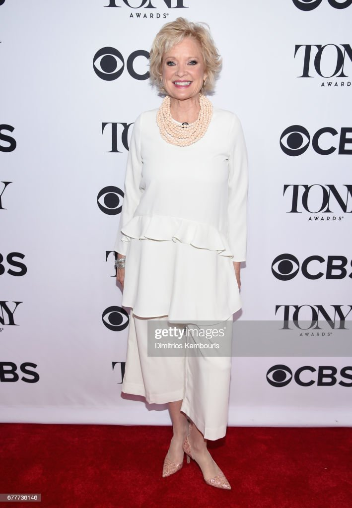 Nominee Christine Ebersole attends the 2017 Tony Awards Meet The Nominees Press Junket at the Sofitel New york on May 3, 2017 in New York City.