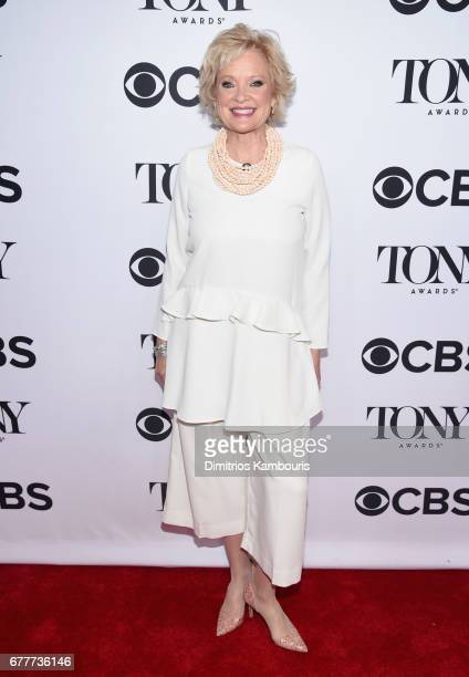 Nominee Christine Ebersole attends the 2017 Tony Awards Meet The Nominees Press Junket at the Sofitel New york on May 3 2017 in New York City
