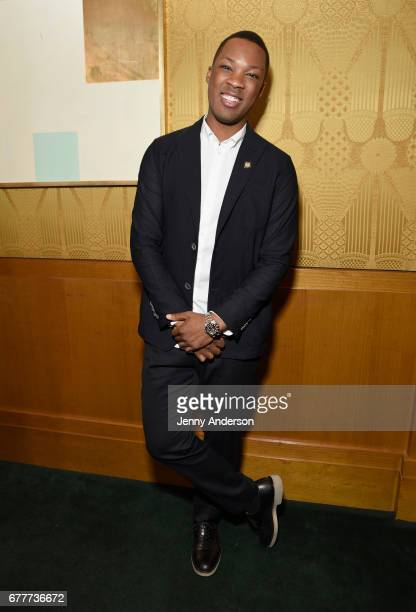 Nominee Corey Hawkins attends the 2017 Tony Awards Meet The Nominees Press Junket at the Sofitel New York on May 3 2017 in New York City