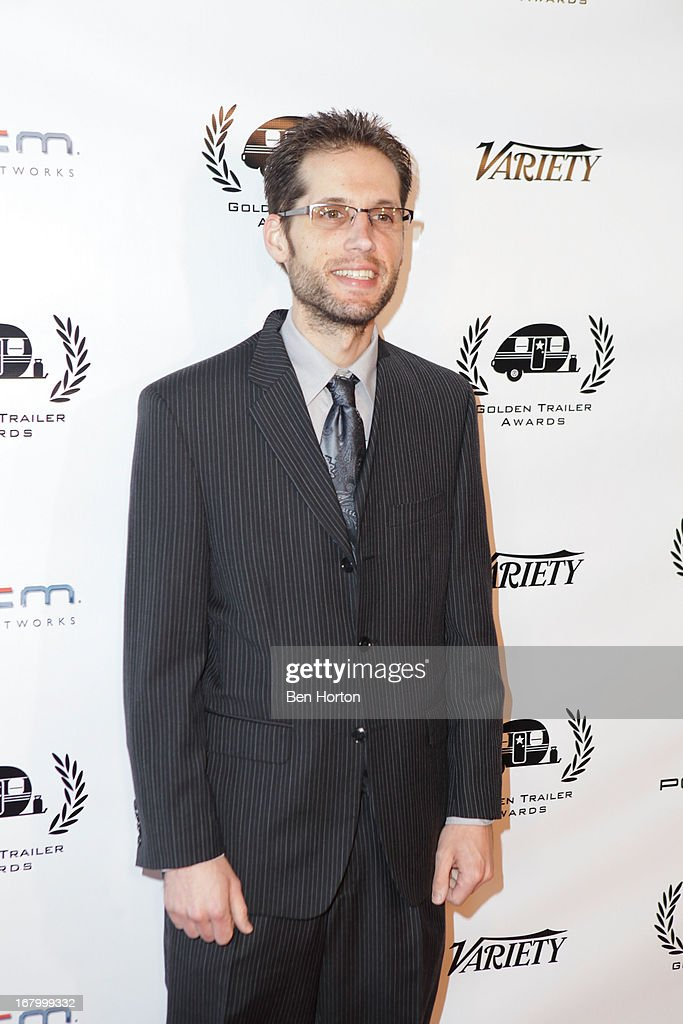 Nominee Dan Cowan attend the 14th Annual Golden Trailer Awards at Saban Theatre on May 3, 2013 in Beverly Hills, California.