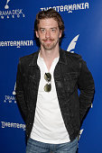 Nominee for outstanding featured actor in a musical actor Christian Borle arrives for the 2015 Drama Desk Awards Nominees Reception held at New World...