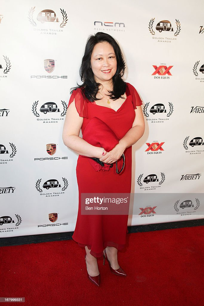 Nominee Helen Adhikari attend the 14th Annual Golden Trailer Awards at Saban Theatre on May 3, 2013 in Beverly Hills, California.