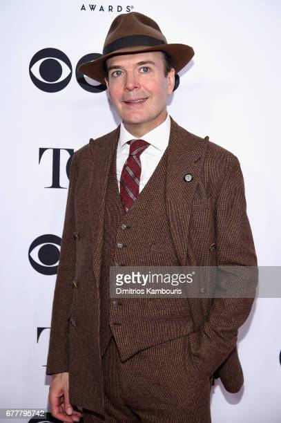 Nominee Jefferson Mays attends the 2017 Tony Awards Meet The Nominees Press Junket at the Sofitel New york on May 3 2017 in New York City