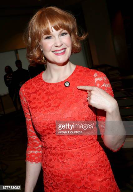 Nominee Kate Baldwin attends the 2017 Tony Awards Meet The Nominees Press Junket at the Sofitel New York on May 3 2017 in New York City