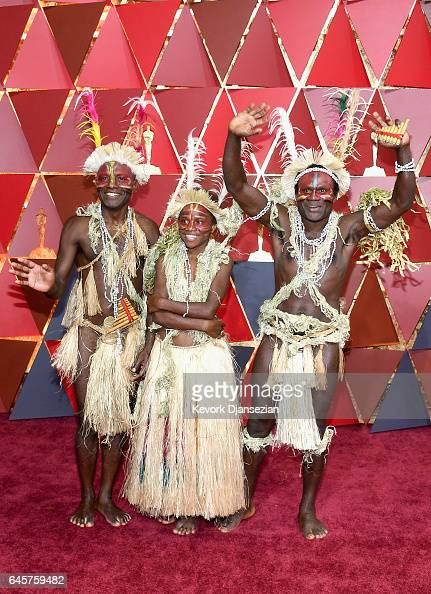 Nominees for Best Foreign Language Film 'Tanna' attend the 89th Annual Academy Awards at Hollywood Highland Center on February 26 2017 in Hollywood...