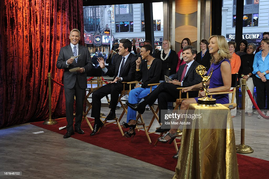 AMERICA - 5/1/13 - Nominees for the 40th Annual Daytime Emmy Awards were announced on GOOD MORNING AMERICA, airing on the ABC Television Network. (Photo by Ida Mae Astute/ABC via Getty Images) SAM