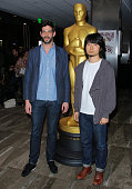Nominees HU Wei and Julien Feret attend the 87th Annual Academy Awards Oscar Week Celebration of Short Films at The Samuel Goldwyn Theater on...
