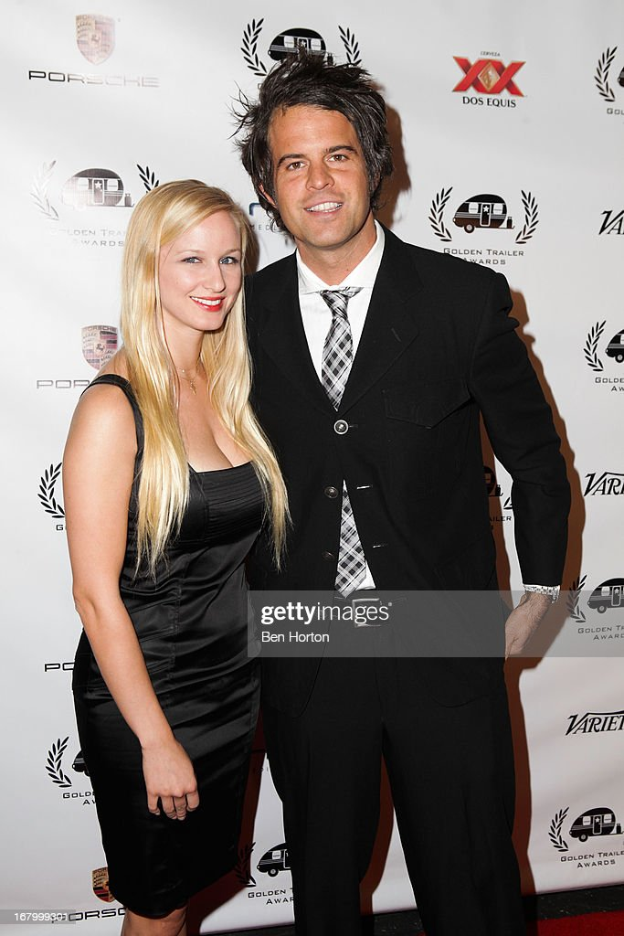 Nominees Katya Chopivsky and Charles Aloron attend the 14th Annual Golden Trailer Awards at Saban Theatre on May 3, 2013 in Beverly Hills, California.