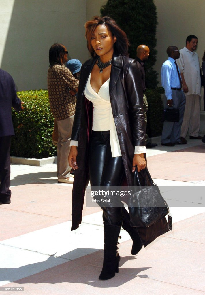 <a gi-track='captionPersonalityLinkClicked' href=/galleries/search?phrase=Nona+Gaye&family=editorial&specificpeople=208660 ng-click='$event.stopPropagation()'>Nona Gaye</a> during A Celebration of the Life of Rick James - Arrivals at Forest Lawn in Burbank, California, United States.