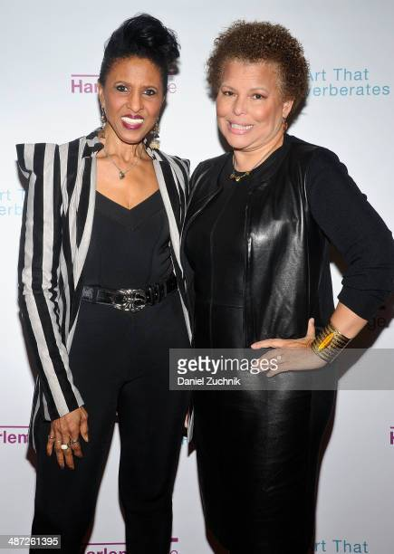 Nona Hendryx and Debra Lee attend the Harlem Stage 2014 Spring Gala at Harlem Stage Gatehouse on April 28 2014 in New York City