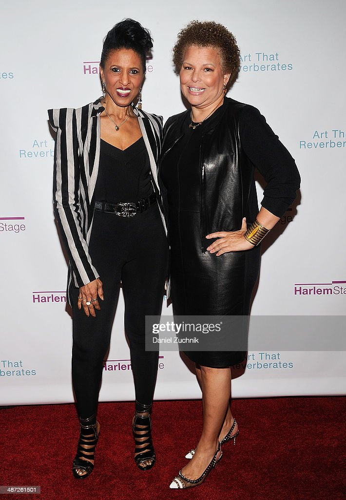 <a gi-track='captionPersonalityLinkClicked' href=/galleries/search?phrase=Nona+Hendryx&family=editorial&specificpeople=790013 ng-click='$event.stopPropagation()'>Nona Hendryx</a> and Debra Lee attend the Harlem Stage 2014 Spring Gala at Harlem Stage Gatehouse on April 28, 2014 in New York City.