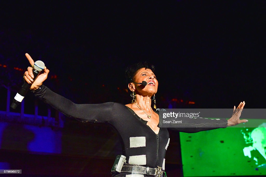 Nona Hendryx and Performance at LongHouse Reserve 2016 Jubilee Year Summer Benefit, Serious Moonlight at LongHouse Reserve on July 23, 2016 in East Hampton, NY.