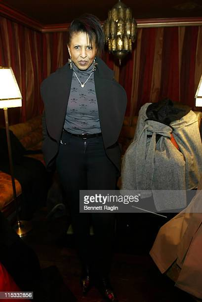 Nona Hendryx during Launch of Arctic Rose Outerwear Created by Celebrity Stylist and Designer Dalila Anderson at AZZA in New York City New York...