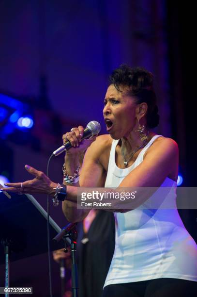 Nona Hendryx performs as part of a Lou Reed tribute entitled 'The Bells' in Damrosch Park at Lincoln Center in New York City on July 30 2016