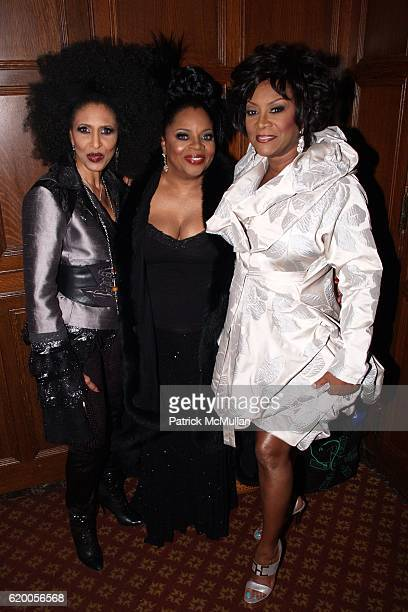 Nona Hendryx Sarah Dash and Patti LaBelle attend 15th Annual OUT100 Awards Presented by BRISTOLMYERS SQUIBB at Gotham Hall on November 14 2008 in New...