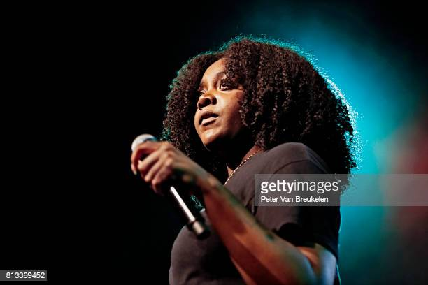 Noname Performs at North Sea Jazz Festival on July 8th 2017 in Rotterdam The Netherlands