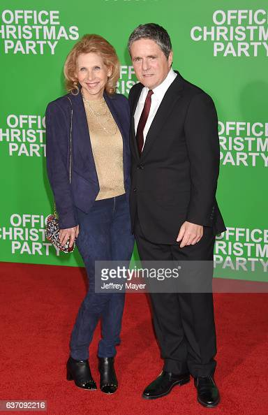NonExecutive Vice Chair of the Board at Paramount Shari Redstone and Chairman and CEO at Paramount Brad Grey arrive at the Premiere Of Paramount...
