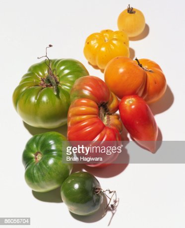 Non-hybridized heirloom tomatoes