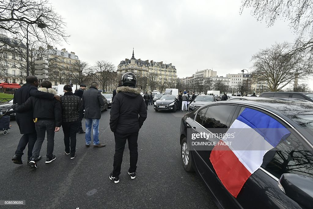 French Taxi Drivers Self Driving Cars Paris