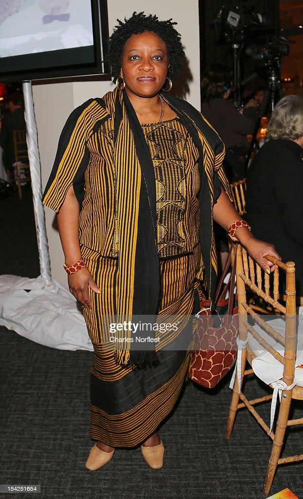 Nontombi Naomi Tutu, daughter of Archbishop Desmond Tutu attends 12th Biennial Juliet Hollister Awards Gala at Tribeca Rooftop on October 16, 2012 in New York City.