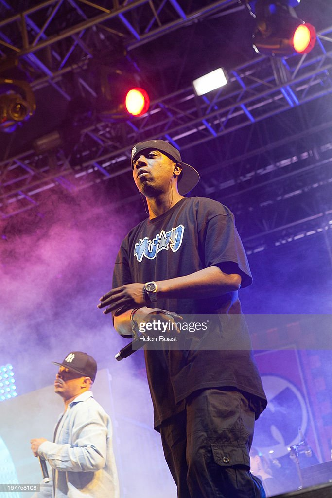 Noodles of Wu Tang Clan performs on stage at 2013 Coachella Music Festival on April 21, 2013 in Indio, California.