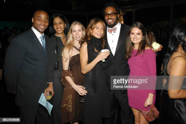 Nook DuBose Guest Guest Naomi Gwin Dhani Jones and Isabel Miro attend American Museum of Natural History Winter Dance at the American Museum of...