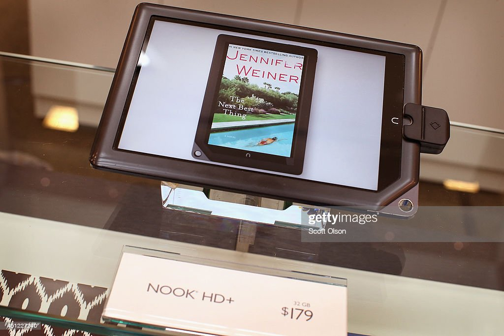 Nook tablet is offered for sale at a Barnes Noble store on June 25 2014 in Oak Brook Illinois Barnes Noble annouced today a plan to separate Barnes...