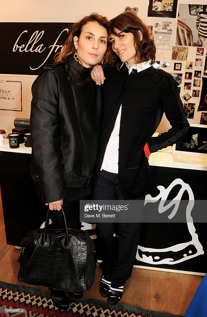 <a gi-track='captionPersonalityLinkClicked' href=/galleries/search?phrase=Noomi+Rapace&family=editorial&specificpeople=4522889 ng-click='$event.stopPropagation()'>Noomi Rapace</a> (L) and Bella Freud attend the launch of the Bella Freud pop-up boutique at Bicester Village on November 15, 2012 in Bicester, England.