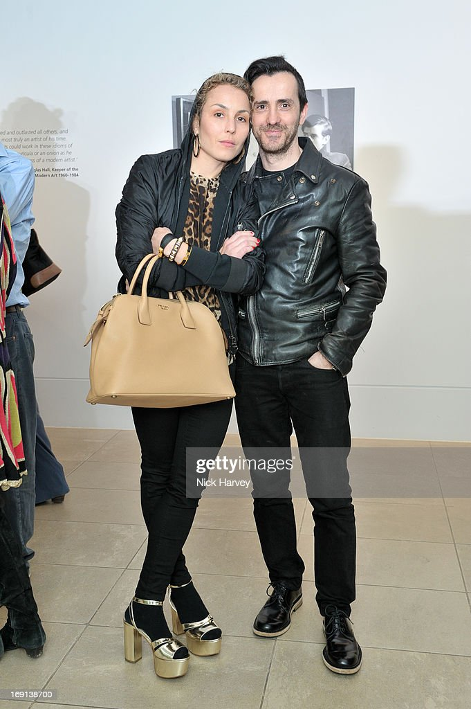 Noomi Rapace and Kinder Aggugini attend Rory McEwen - The Colours of Reality at Kew Gardens on May 20, 2013 in London, England.