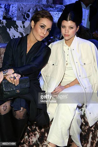 Noomi Rapace and Sofia Richie attend the HM show as part of the Paris Fashion Week Womenswear Fall/Winter 2015/2016 at Grand Palais on March 4 2015...