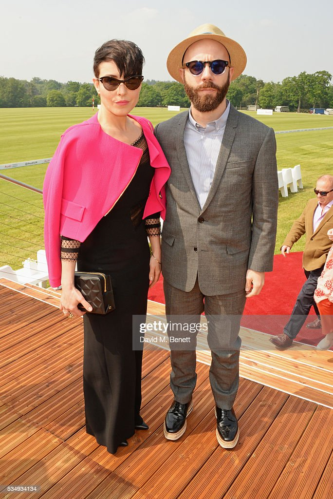 <a gi-track='captionPersonalityLinkClicked' href=/galleries/search?phrase=Noomi+Rapace&family=editorial&specificpeople=4522889 ng-click='$event.stopPropagation()'>Noomi Rapace</a> (L) and Yoann Lemoine attend day one of the Audi Polo Challenge at Coworth Park on May 28, 2016 in London, England.