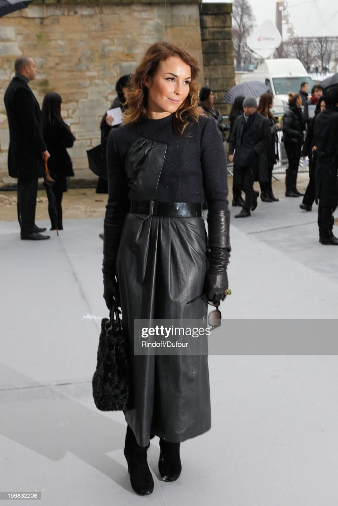 <a gi-track='captionPersonalityLinkClicked' href=/galleries/search?phrase=Noomi+Rapace&family=editorial&specificpeople=4522889 ng-click='$event.stopPropagation()'>Noomi Rapace</a> arrives to attend the Christian Dior Spring/Summer 2013 Haute-Couture show as part of Paris Fashion Week at on January 21, 2013 in Paris, France.