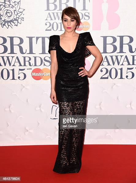 Noomi Rapace attend the BRIT Awards 2015 at The O2 Arena on February 25 2015 in London England