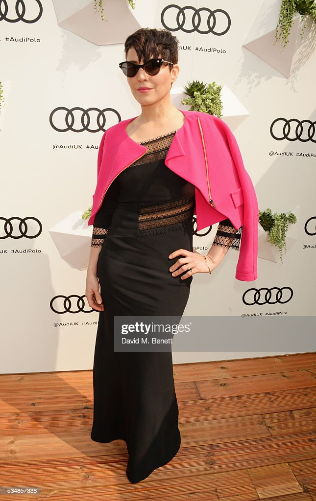 <a gi-track='captionPersonalityLinkClicked' href=/galleries/search?phrase=Noomi+Rapace&family=editorial&specificpeople=4522889 ng-click='$event.stopPropagation()'>Noomi Rapace</a> attends day one of the Audi Polo Challenge at Coworth Park on May 28, 2016 in London, England.