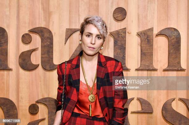Noomi Rapace attends GQ Style Hugo Boss celebrate Amazing Spaces with Edgar Ramirez at John Lautner's Harvey House on November 2 2017 in Los Angeles...