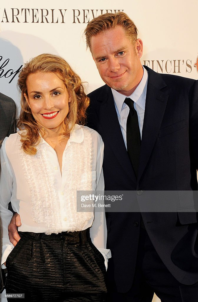 Noomi Rapace (L) attends the annual Finch's Quarterly Review Filmmakers Dinner hosted by Charles Finch, Caroline Scheufele and Nick Foulkes at Hotel Du Cap Eden Roc on May 17, 2013 in Antibes, France.
