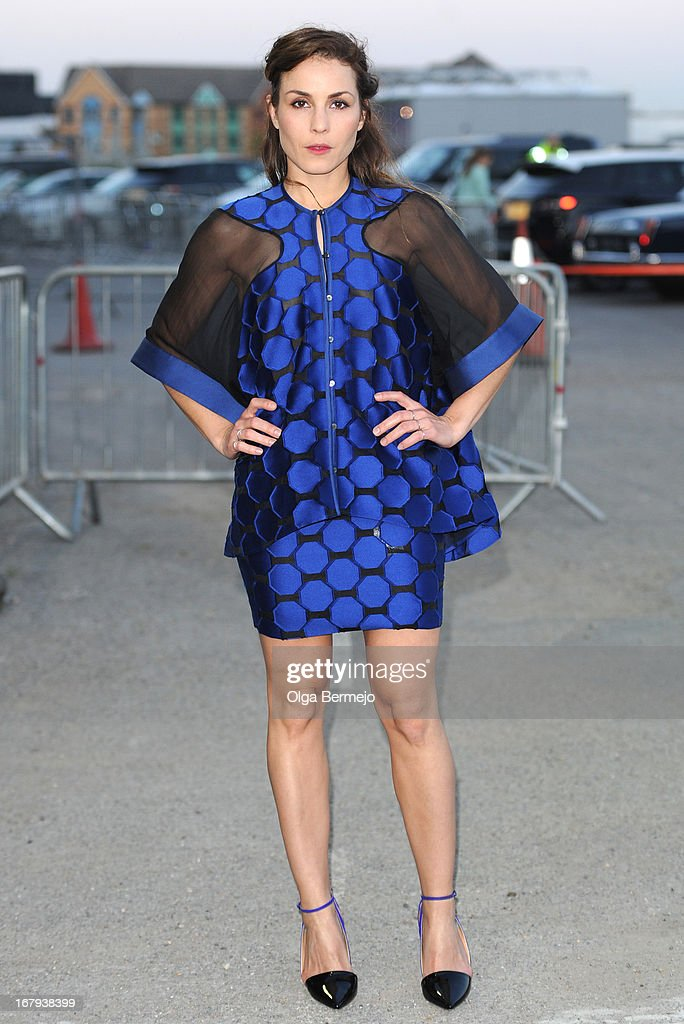 Noomi Rapace attends the annual fundraiser in aid of Gabrielle's Angel Foundation for Cancer Research at Battersea Power station on May 2, 2013 in London, England.