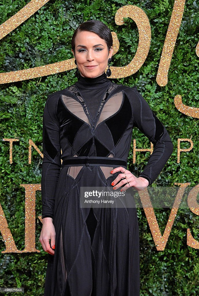 Noomi Rapace attends the British Fashion Awards 2015 at London Coliseum on November 23 2015 in London England