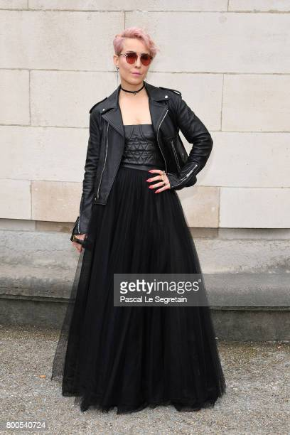 Noomi Rapace attends the Dior Homme Menswear Spring/Summer 2018 show as part of Paris Fashion Week on June 24 2017 in Paris France