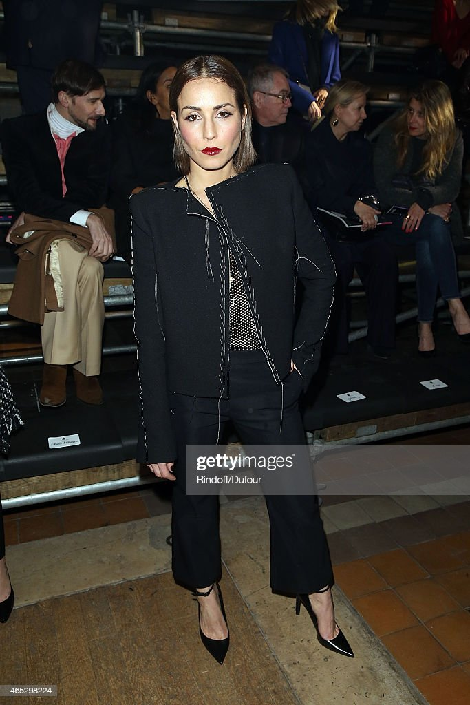Noomi Rapace attends the Lanvin show as part of the Paris Fashion Week Womenswear Fall/Winter 2015/2016 on March 5, 2015 in Paris, France.