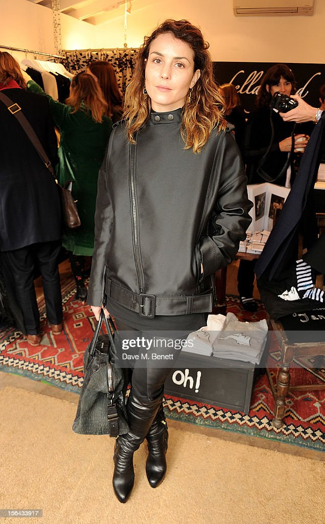 <a gi-track='captionPersonalityLinkClicked' href=/galleries/search?phrase=Noomi+Rapace&family=editorial&specificpeople=4522889 ng-click='$event.stopPropagation()'>Noomi Rapace</a> attends the launch of the Bella Freud pop-up boutique at Bicester Village on November 15, 2012 in Bicester, England.