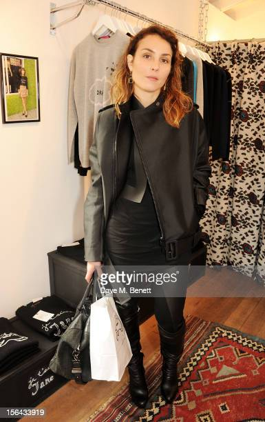 Noomi Rapace attends the launch of the Bella Freud popup boutique at Bicester Village on November 15 2012 in Bicester England