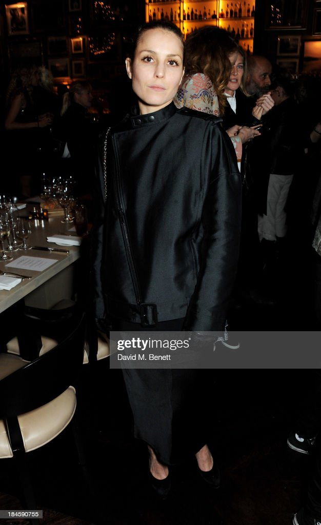 Noomi Rapace attends the London EDITION and NOWNESS dinner to celebrate ON COLLABORATION on October 14, 2013 in London, England.