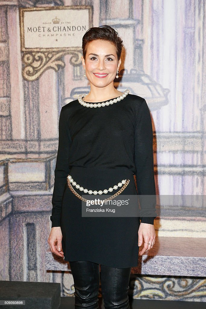 <a gi-track='captionPersonalityLinkClicked' href=/galleries/search?phrase=Noomi+Rapace&family=editorial&specificpeople=4522889 ng-click='$event.stopPropagation()'>Noomi Rapace</a> attends the Moet & Chandon Grand Scores 2016 at Hotel De Rome on February 6, 2016 in Berlin, Germany.
