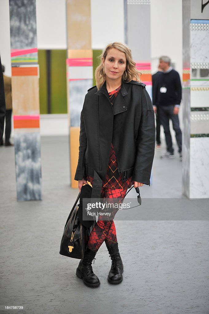 <a gi-track='captionPersonalityLinkClicked' href=/galleries/search?phrase=Noomi+Rapace&family=editorial&specificpeople=4522889 ng-click='$event.stopPropagation()'>Noomi Rapace</a> attends the private view for Frieze on October 16, 2013 in London, England.